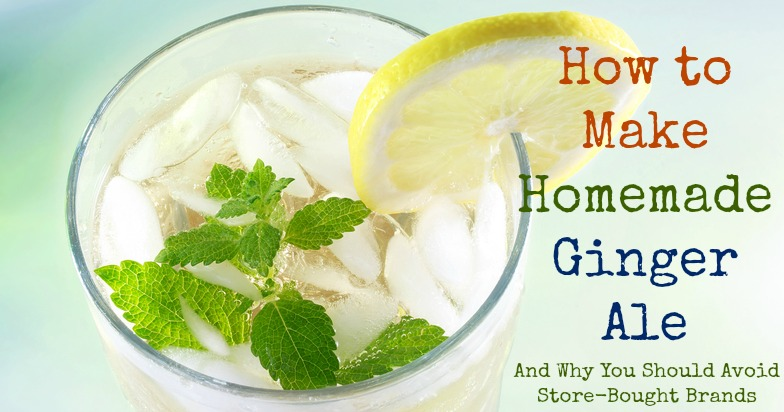 Learn how to make homemade ginger ale. Here's a simple recipe as well as 5 reasons why you should make it at home.