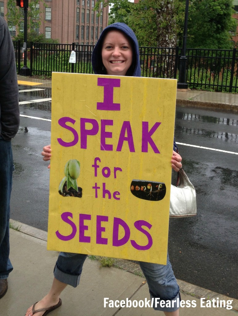 I speak for the seeds