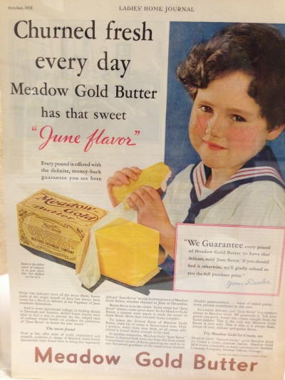 Take a visual tour of the history of butter in the 20th century to learn more about not just butter but the history food and food traditions.