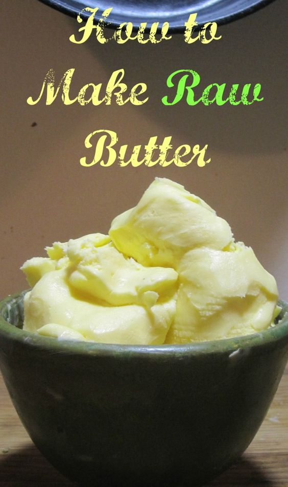 Making raw butter at home is SO easy! Find out how to turn raw cream into raw butter in just a few simple steps.
