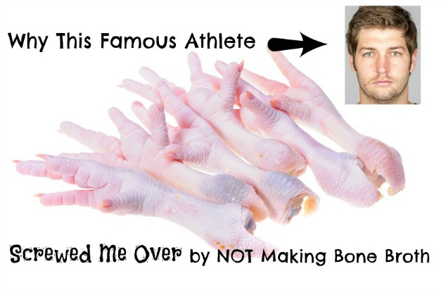 Jay Cutler, the quarterback for the Chicago Bears, was recently injured and told to make bone broth to speed the healing process. Here's why he didn't do it.