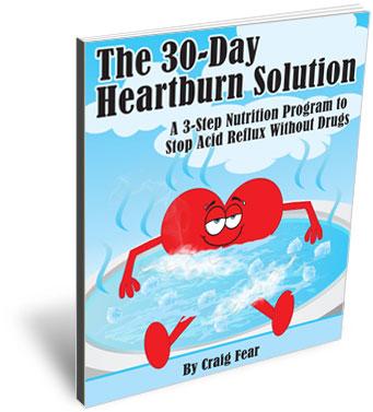 heartburn milk or water