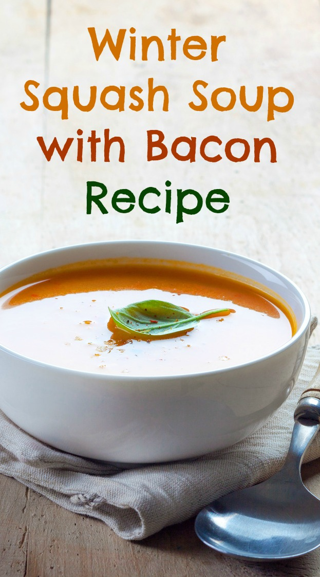 Winter Squash Soup with Bacon Recipe