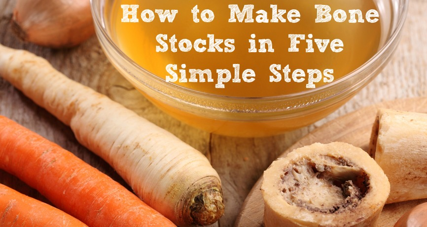 Making homemade bone stock has a ton of health benefits. Though it's a skill most of us have lost, you can learn how to make bone stock in 5 simple steps.