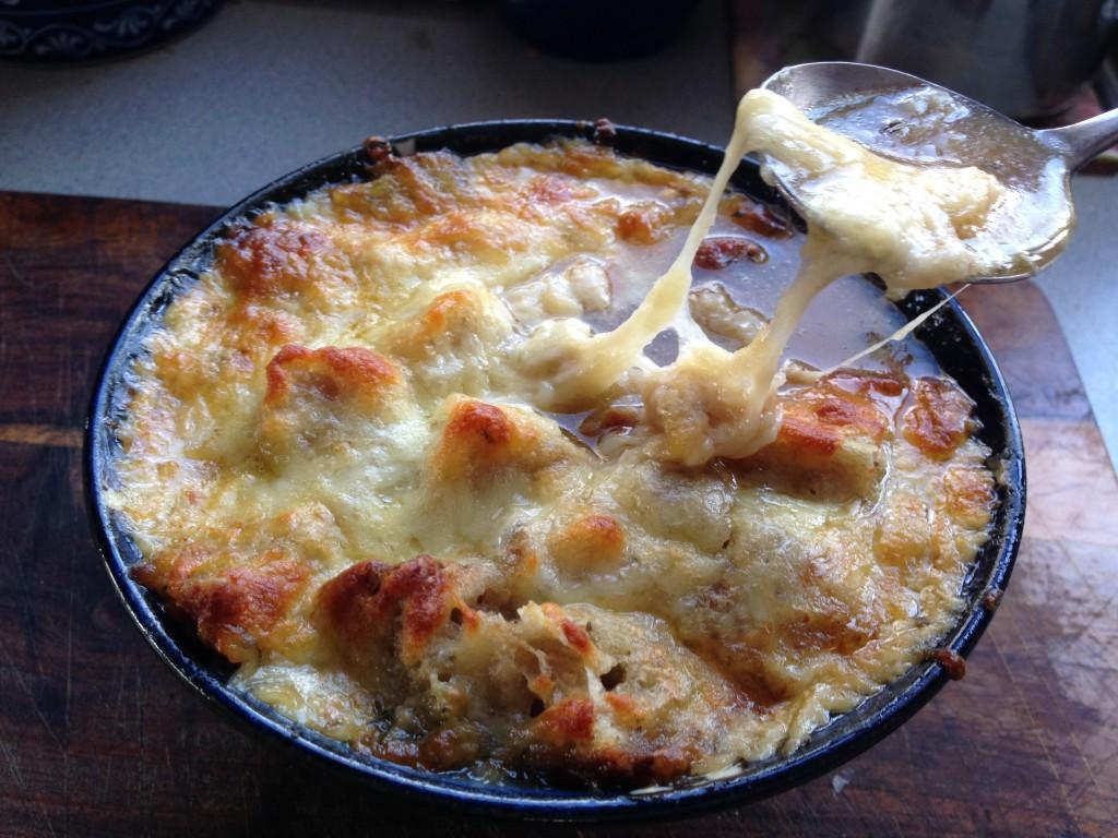 Cheesy French Onion Soup Recipe