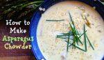 how to make asparagus chowder