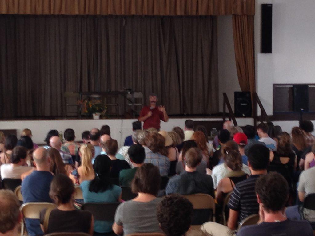Sandor Katz speaking about fermentation