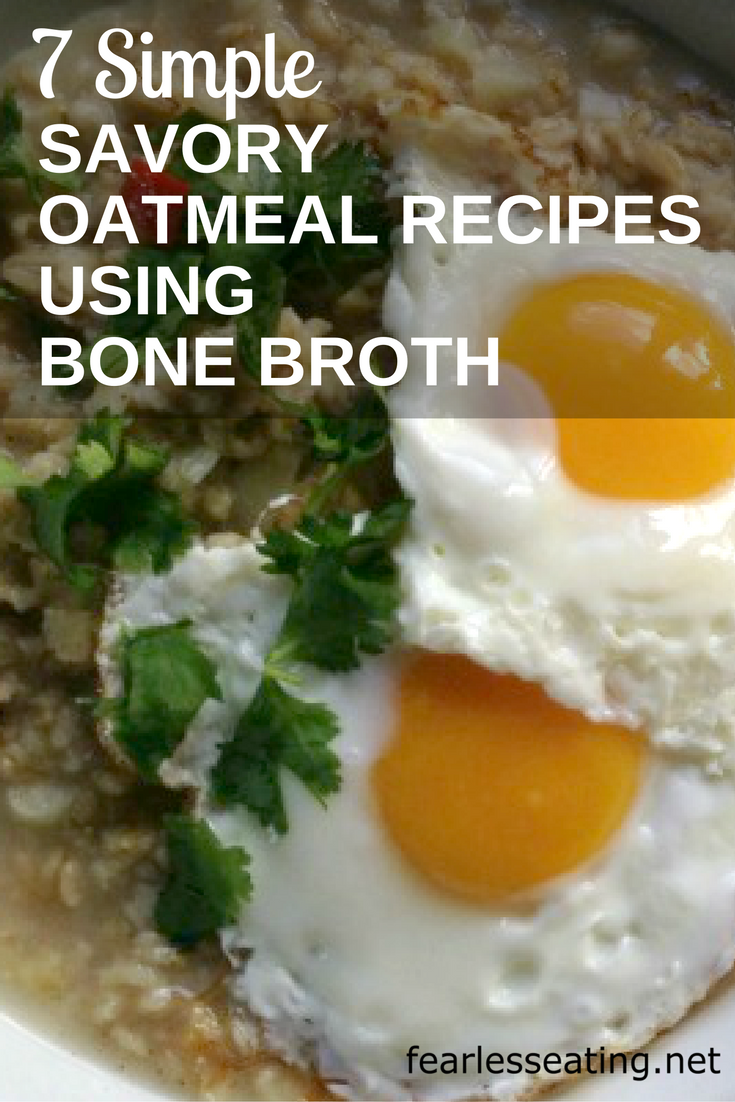 The first time I heard about savory oatmeal I was suspicious. Then I tried it and now I make it regularly. Trust me, you have to try it to believe it.