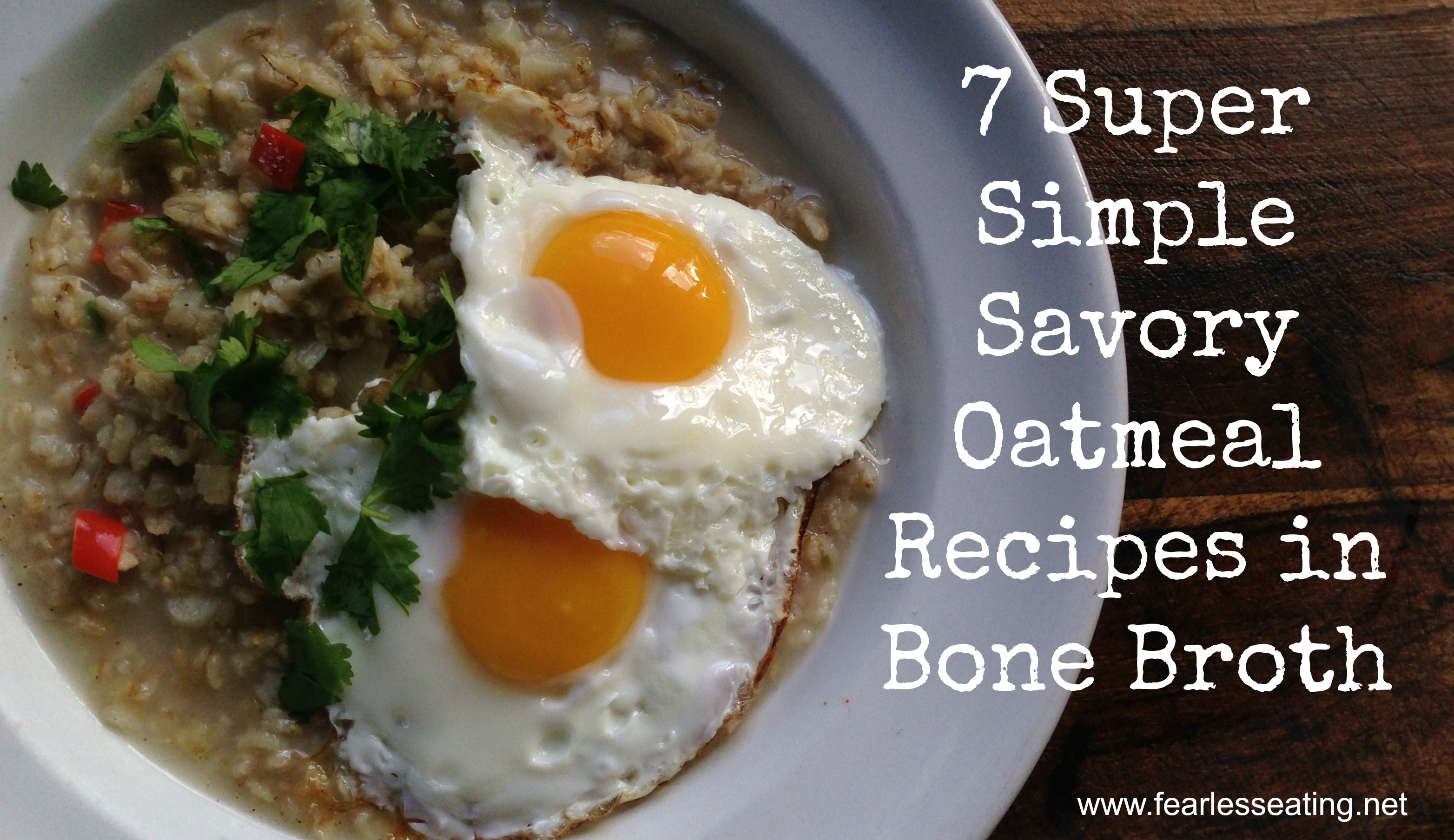 recipe: savory oatmeal with egg recipe [27]