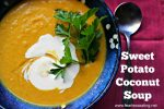 sweet potato coconut soup recipe