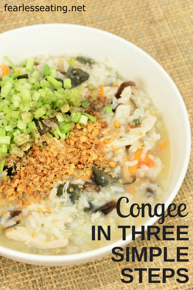 Congee is basically the oatmeal of Asia but made with rice instead of oats. In 3 simple steps you can learn to make a variety of delicious congee recipes.