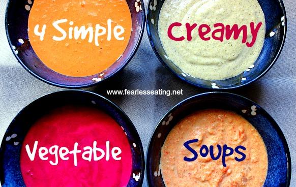 creamy vegetable soup recipes