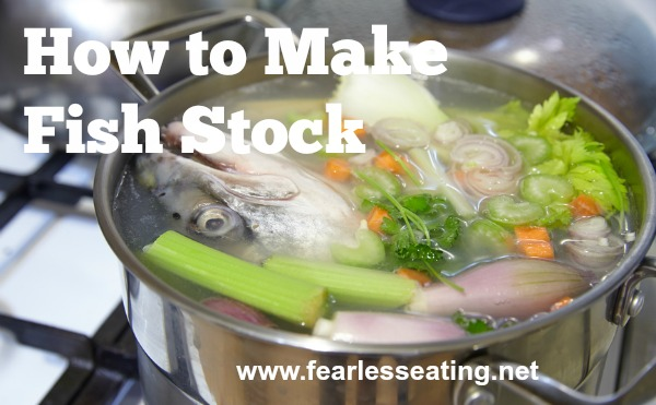 It's amazing so few people know how to make fish stock anymore. It is so easy! Learn how in this simple video demo.