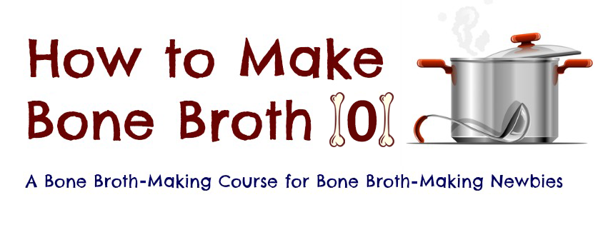 Learning how to make bone broth is easy. But many people over complicate it. With one big idea you'll have all you need to make bone broth at home.
