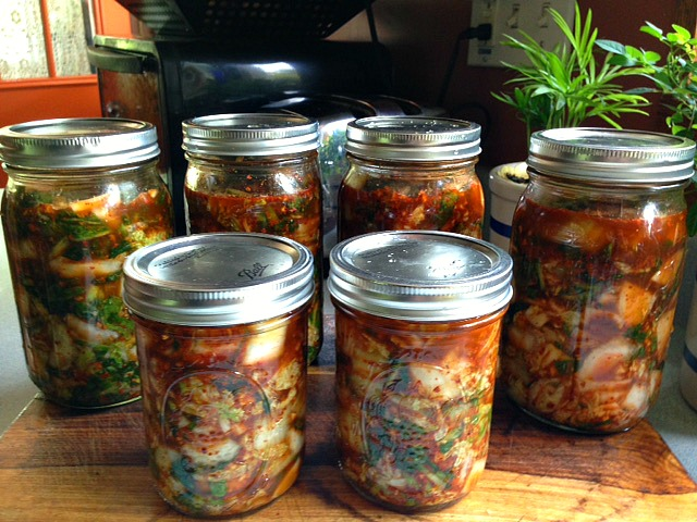 making kimchi is another cool reason to join a CSA