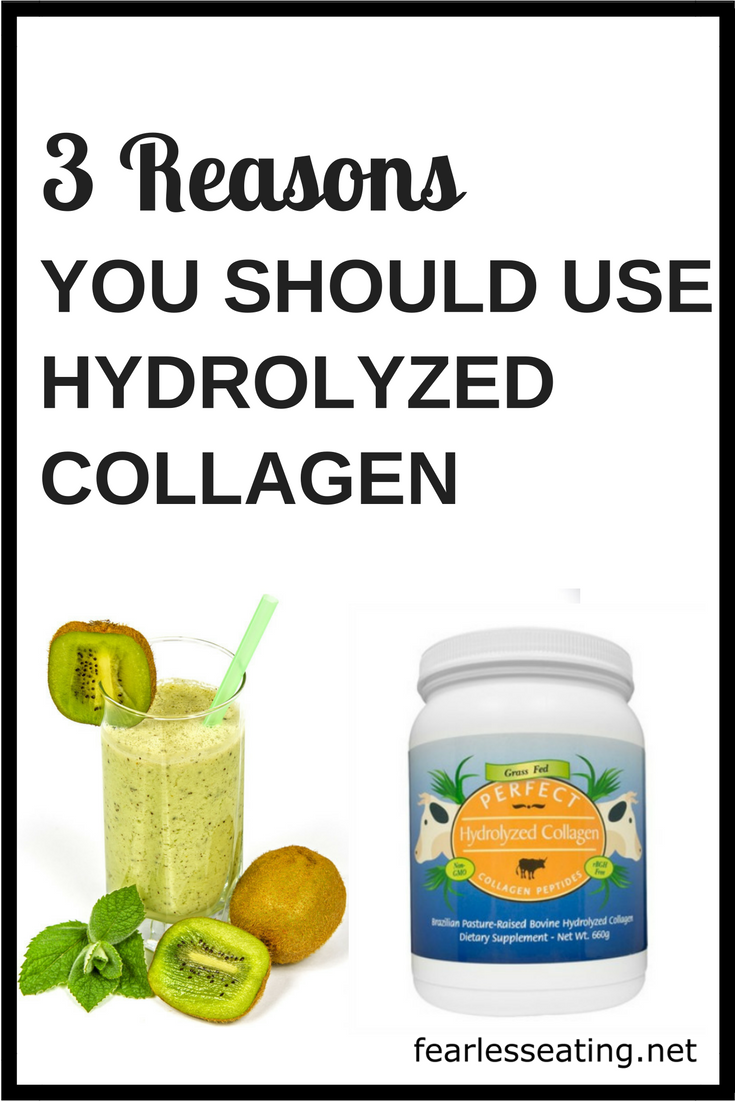 Collagen hydrolysate is a supplement that can provide many of the benefits of bone broth. Learn what it is, how to take it and 3 reasons why you should! 