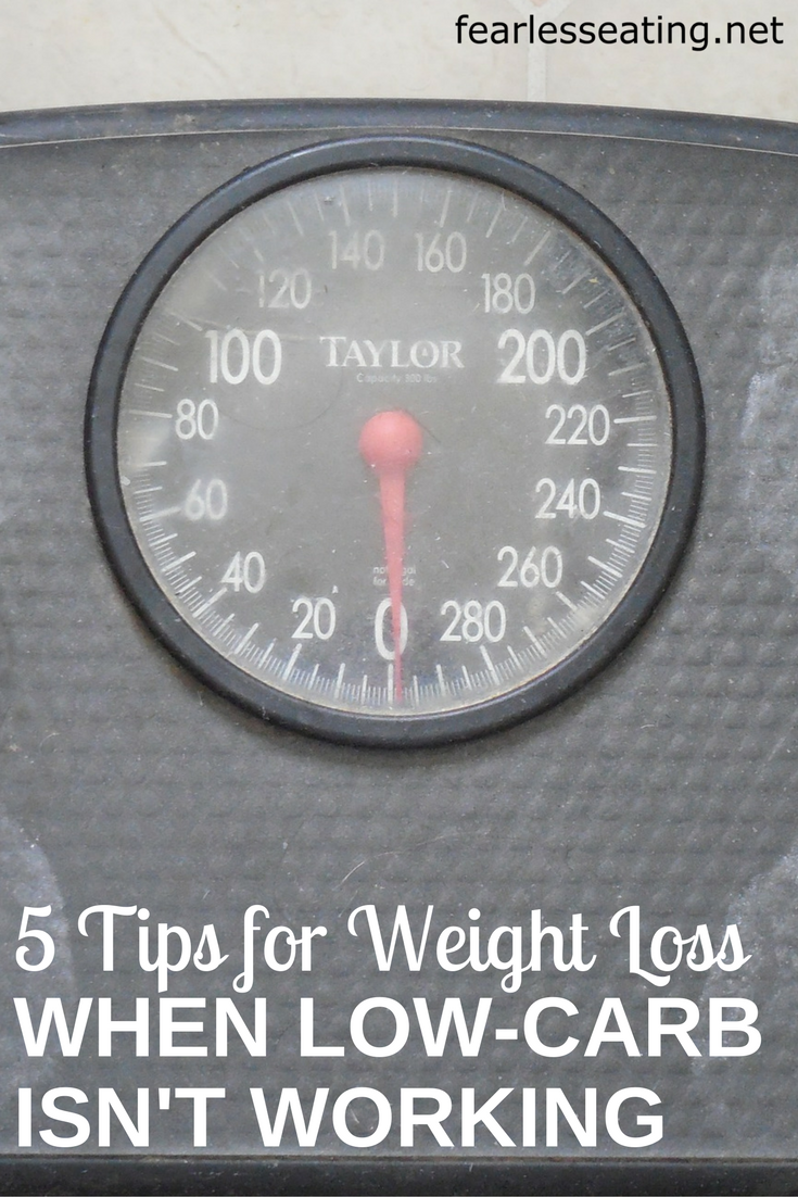 While most people lose weight easily on a low carb diet, not everyone does. Here's 5 smart weight loss tips if you're having trouble losing weight.