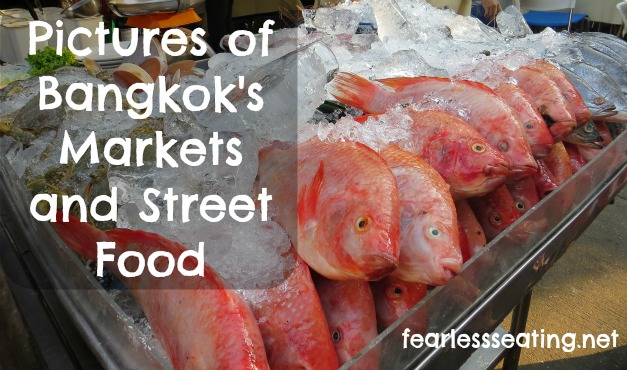 bangkok markets and street food
