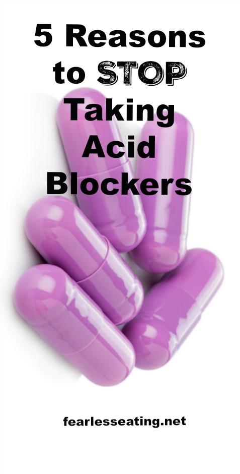 Stop Taking Acid Blockers Pin