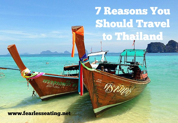 It never ceases to amaze me how few Americans travel to Thailand. Thailand has so much to offer! Here's 7 reasons to make your next trip to Thailand.