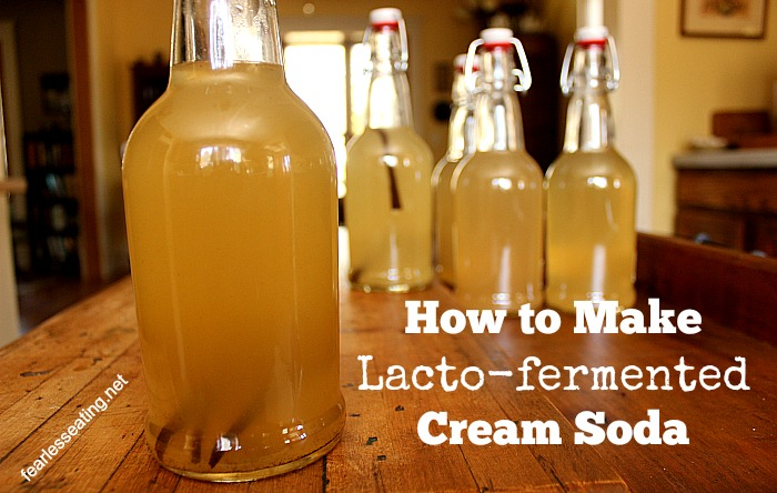 Lacto-fermented Cream Soda