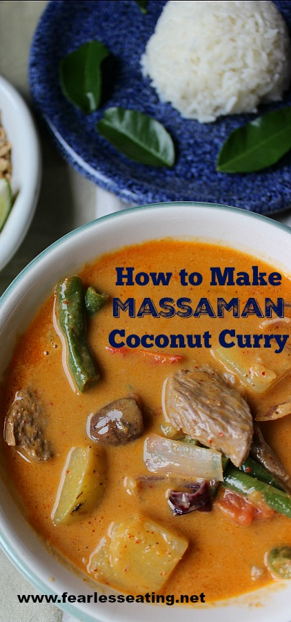 Massaman coconut curry is not only NOT spicy, it's also SWEET. As a result, most westerners love it. It's also very easy to make at home.