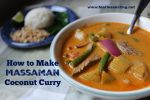 Massaman Coconut Curry Recipe