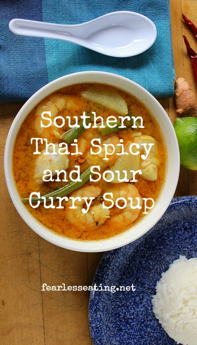 Thai Sour Curry Soup Pin
