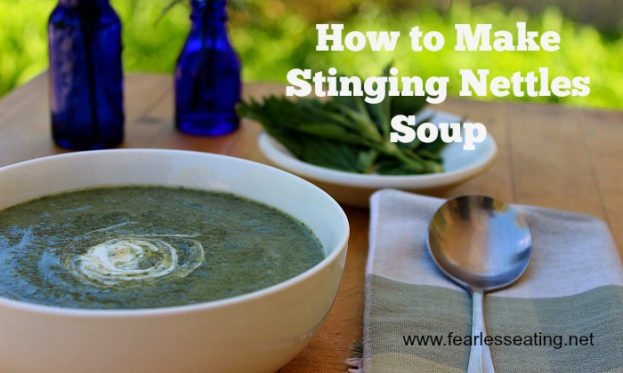 how to make stinging nettles soup