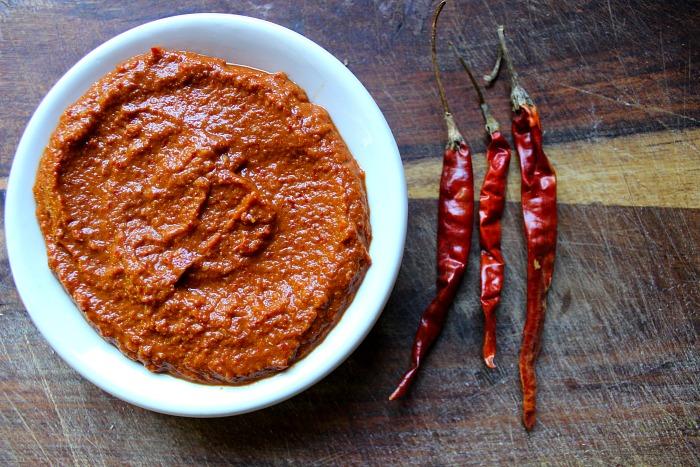 fresh Thai sour curry paste