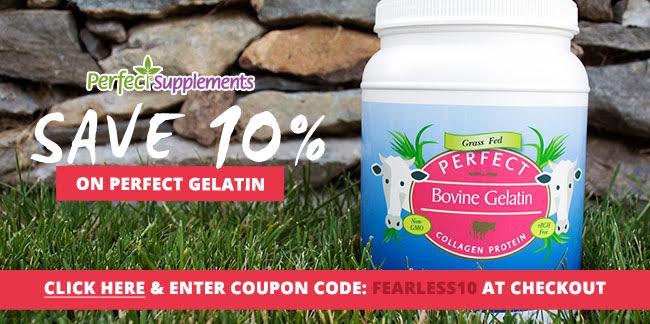 Perfect Supplements bovine gelatin