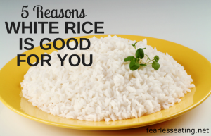 5 Reasons Why White Rice is Good for You