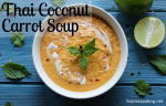 thai coconut carrot soup