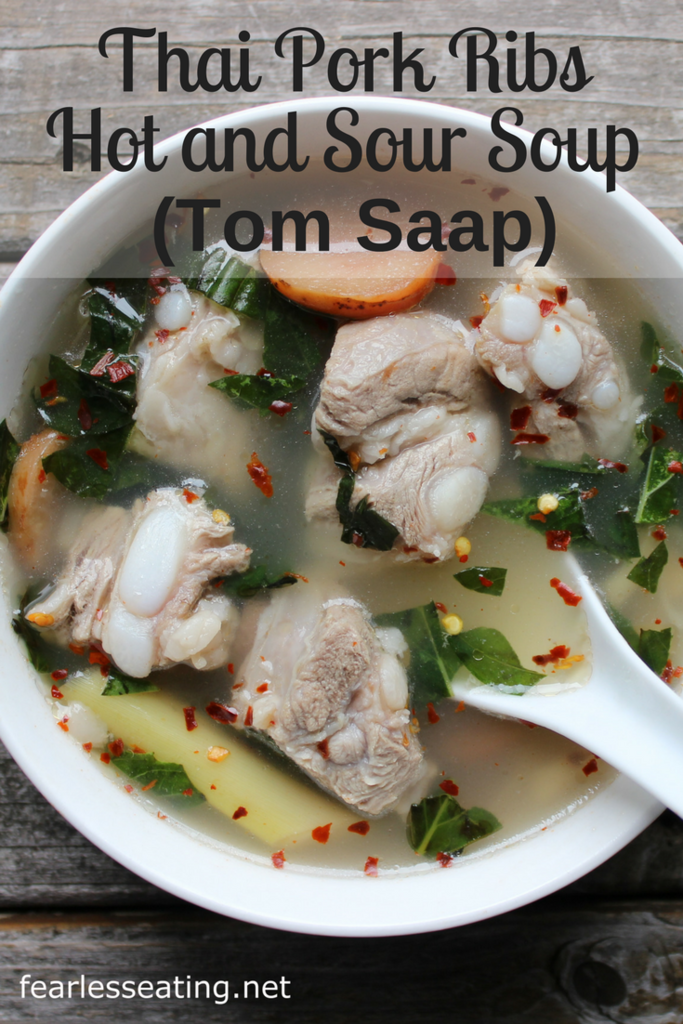 Tom saap really showcases the fragrant depths that fresh lemongrass, galangal and kaffir lime can add to Thai soups. It's also super simple to make at home.
