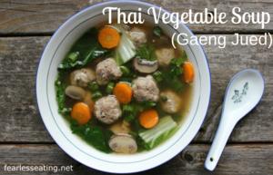 Thai Vegetable Soup (Gaeng Jued)