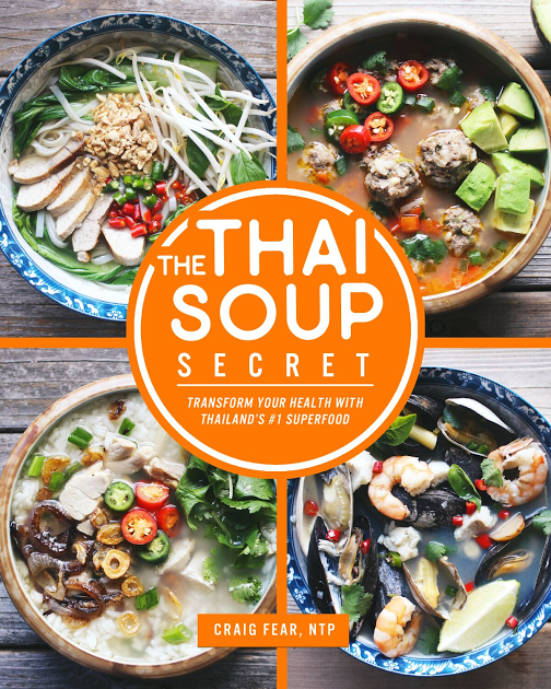 Thai soups can help a lot of people but, in particular, MY PEOPLE. My people don't have much time to cook. And they have a lot of health issues.