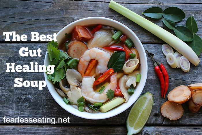 If there was an actual competition for the best gut healing soup, I'd nominate Thailand's most famous soup. Here's 4 reasons why (including a video demo!).