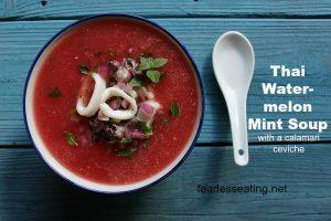 Thai Watermelon-Mint Soup Recipe
