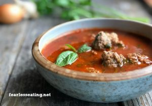 Italian Meatball Soup Recipe (Grain-Free)