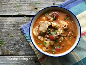 How to Make a Portuguese Fish Chowder (Two Different Ways)
