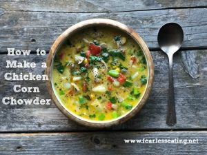 Simple Chicken Corn Chowder Recipe