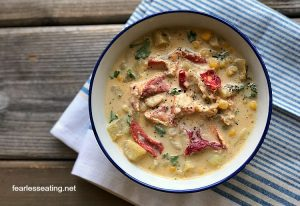 How to Make a Lobster Corn Chowder