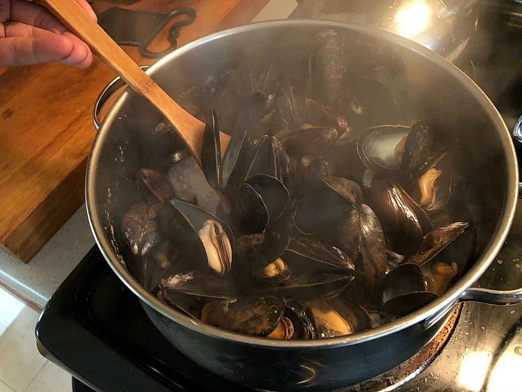 Mussel chowder is just as easy to make and just as flavorful as clam chowder. That means you can try different ingredients and be creative! Enter fennel.