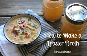 How to Make a Lobster Broth