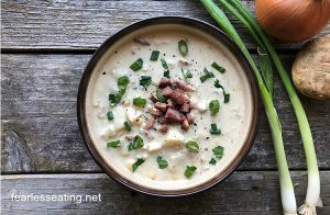 How to Make a Bacon Cheddar Corn Chowder