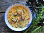 mussel chowder with fennel