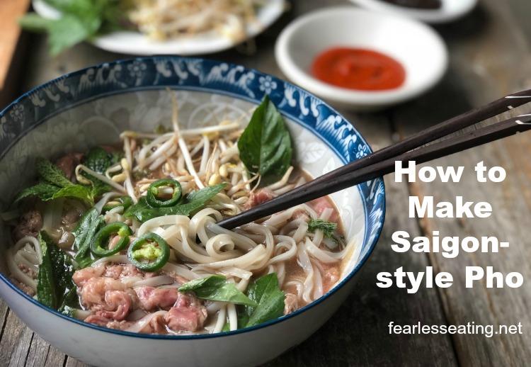 How to Make Pho Part 1: Saigon-style Pho