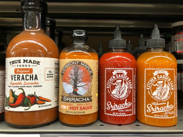 locally made sriracha