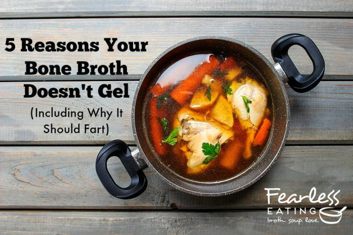 5 Reasons Your Bone Broth Doesn't Gel