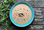 easy crab bisque recipe